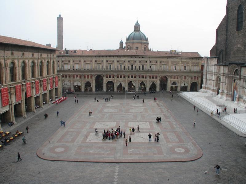 Bologna's Urban Heart and Soul: Piazza Maggiore (D. Saitta)
