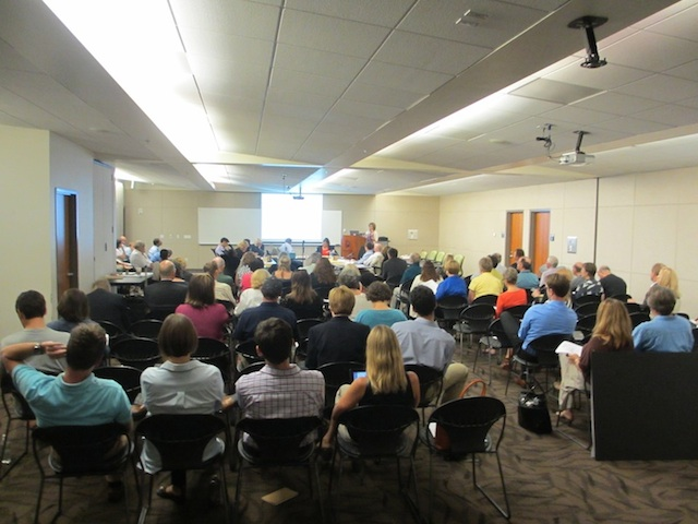 Denver Planning Board Meeting, 1 August 2012 (D. Saitta)
