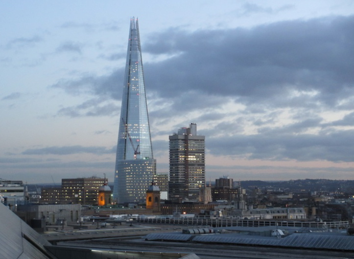 The Shard, Viewed from near St. Paul's Cathedral (D. Saitta)