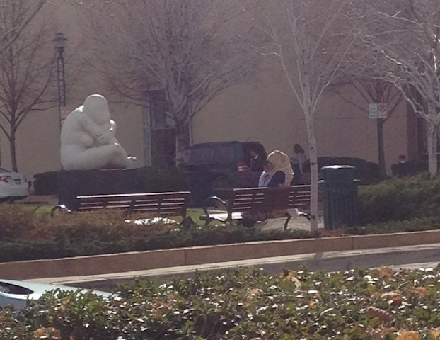 Mother with Child, CityCenter Englewood (courtesy Mengye Liu)