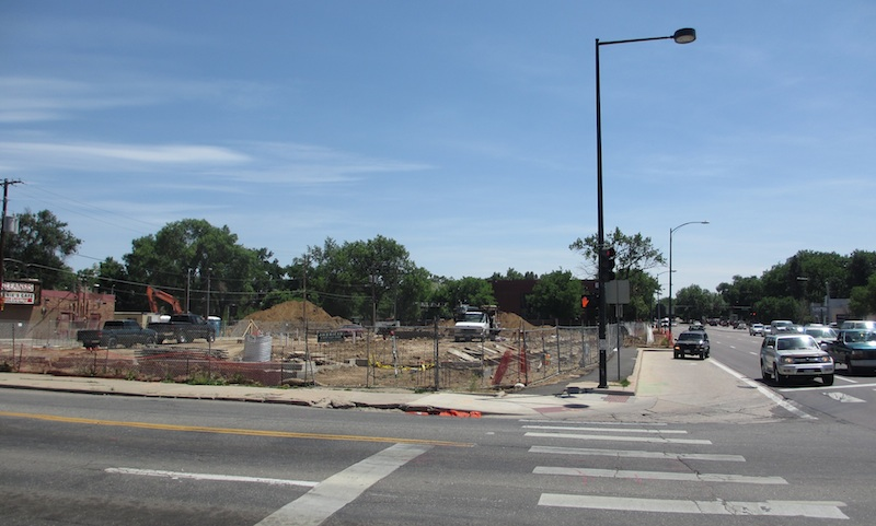 Trader Joe's Under Construction at 8th and Colorado (D. Saitta)