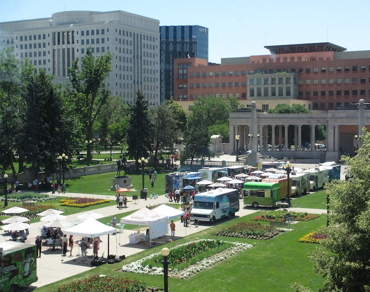 Food Trucks in Civic Center Park (D. Saitta)