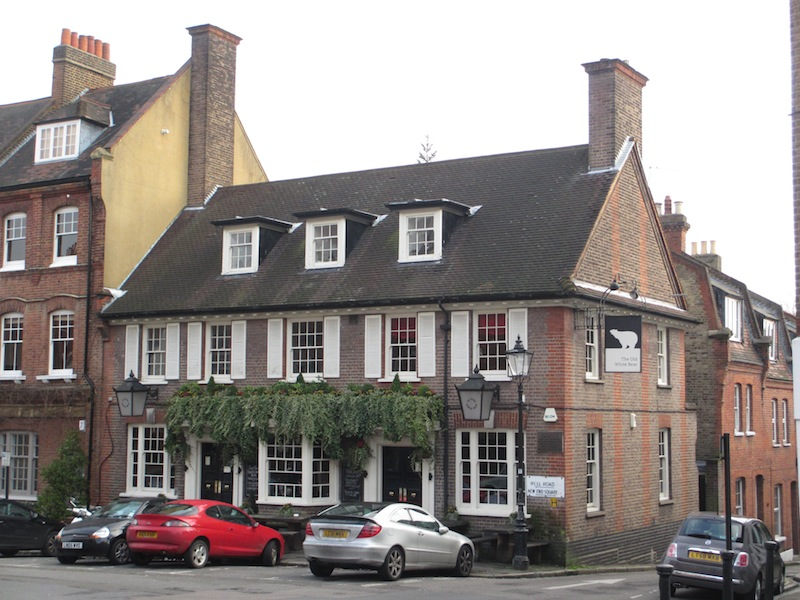 The Old White Bear, Hampstead, London (D. Saitta)