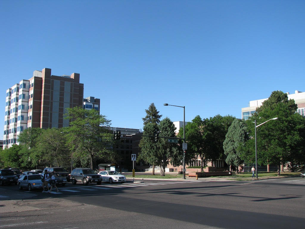 University of Colorado Health Sciences Center campus (D. Saitta)