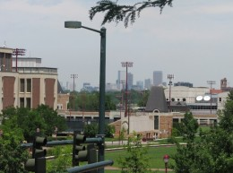 Denver, as viewed from its University (D. Saitta)