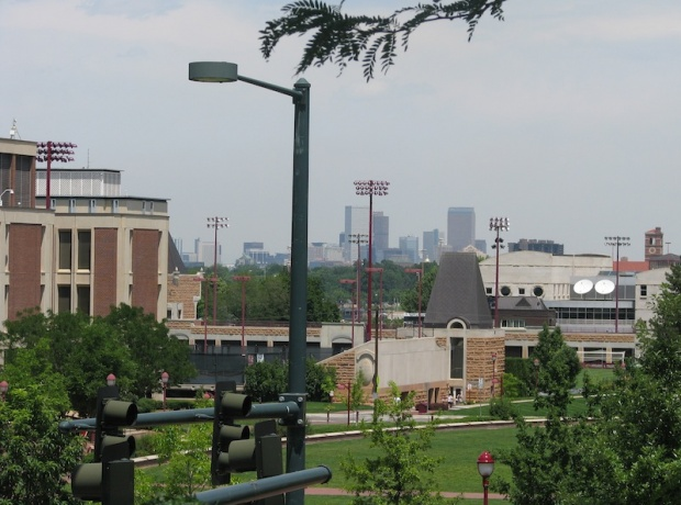Denver, as viewed from its University (D. Saitta)
