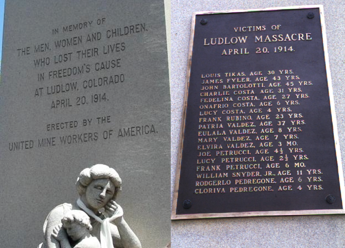Ludlow Monument Inscription and Plaque (photographs by D. Saitta)