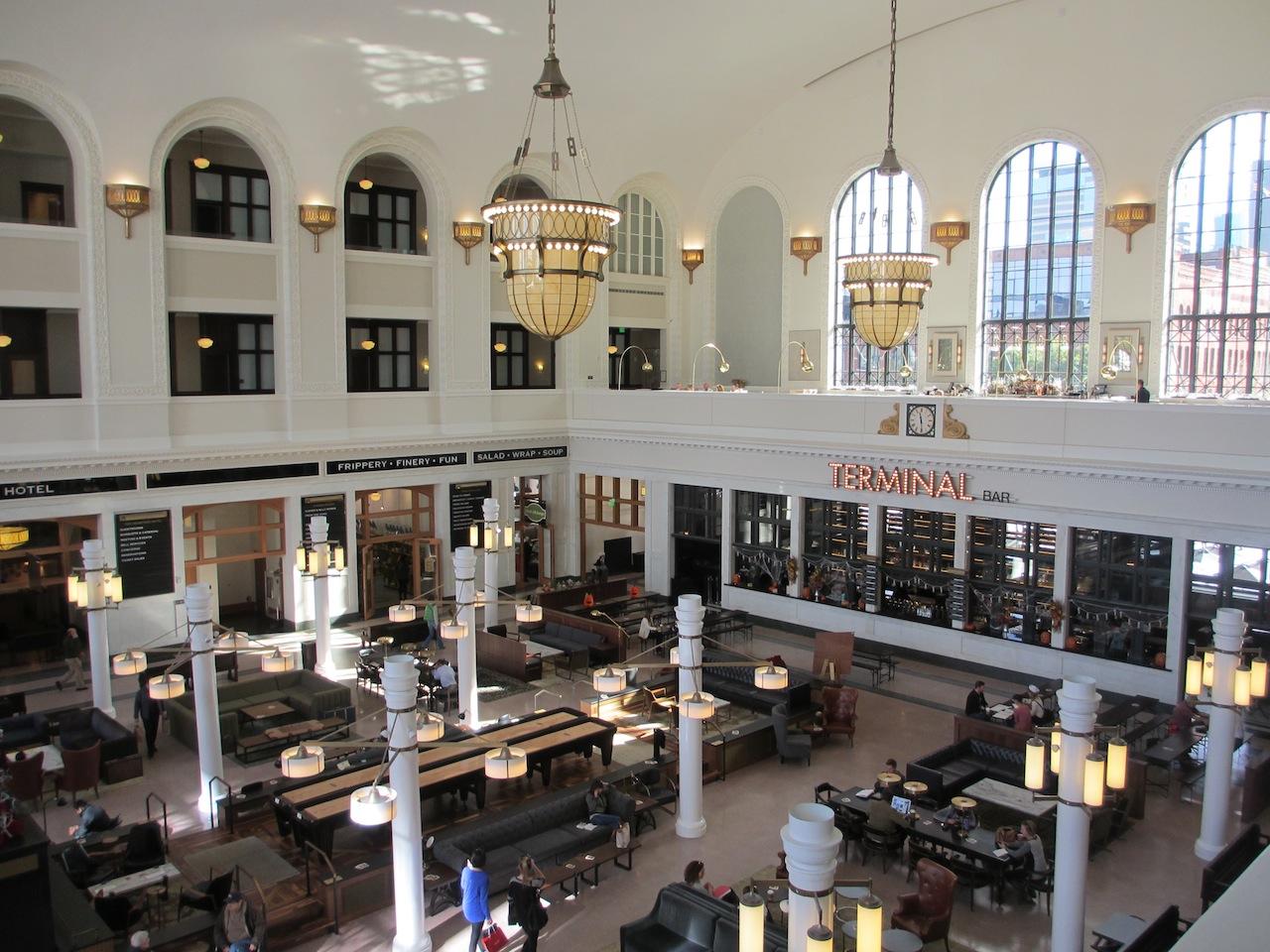 Denver's Union Station, Interior (D. Saitta)