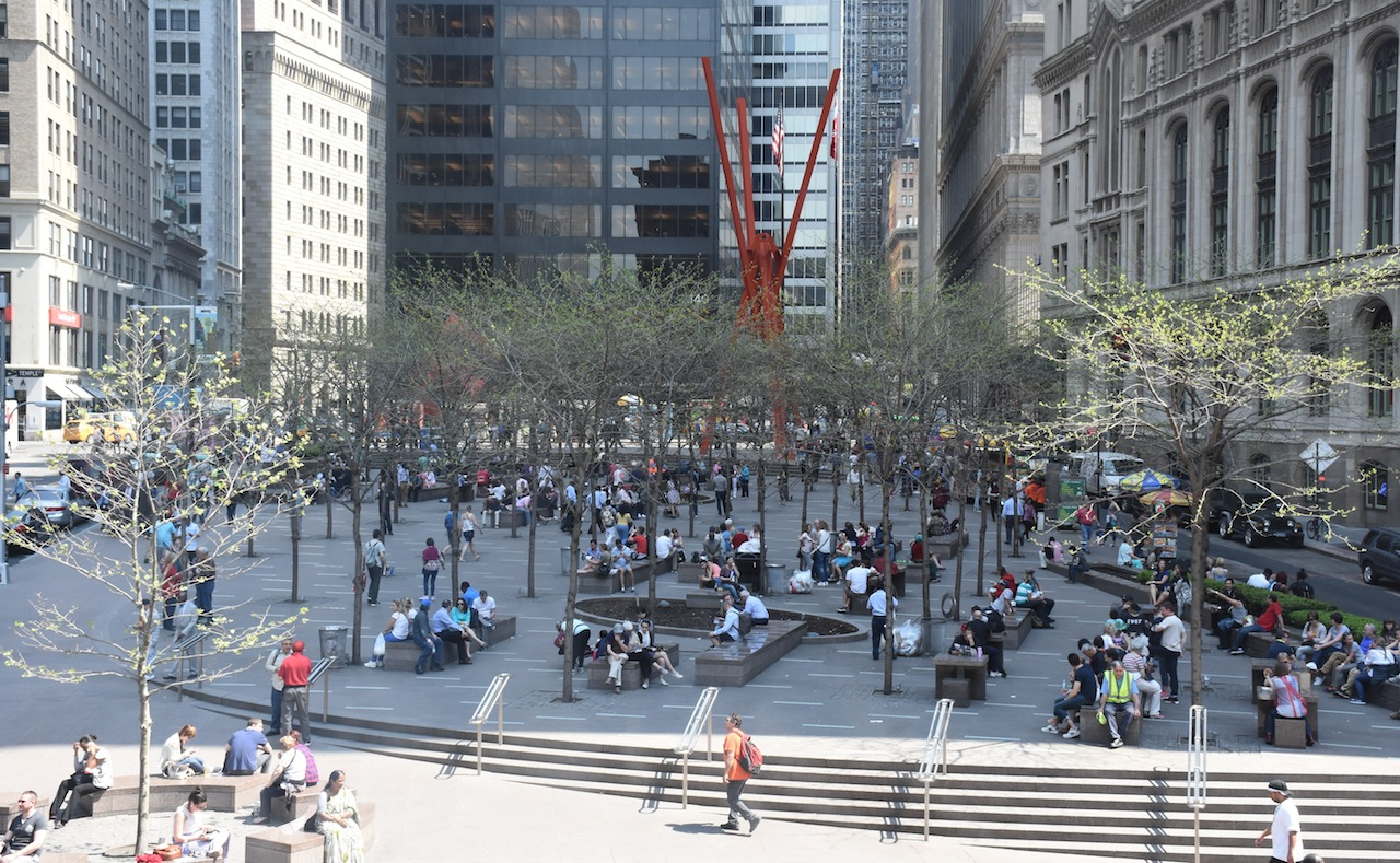 Zuccotti Park, New York City (Wikipedia)