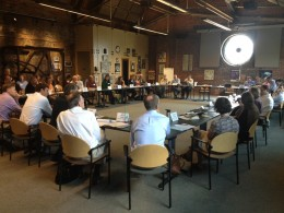 Water Supply and Land Use Focus Group, 10 July 2012, Denver (Photograph courtesy of Todd Bryan, Keystone Policy Center)