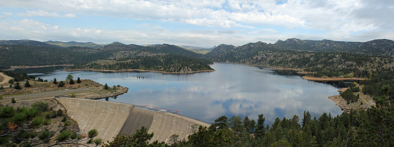 Gross Reservoir, Boulder County, owned by Denver Water (Wikipedia)