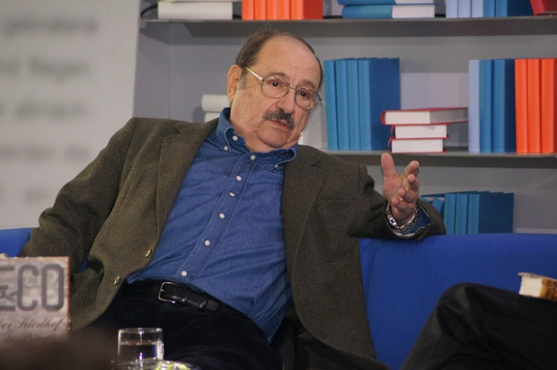 Umberto Eco in 2011. (Copyright: Das Blaue Sofa)