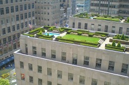 Roof Garden, Rockefeller Center, New York